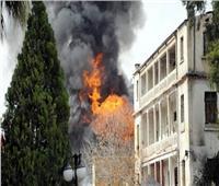 تسعة عمال يلقون حتفهم في حريق بمنجم في روسيا