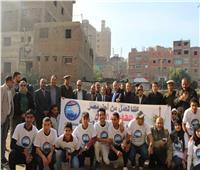 مستقبل وطن بالقليوبية: إزالة 600 طن قمامة بالقناطر الخيرية