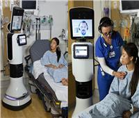 فيديو| لأول مرة.. «الروبوت» يدير مستشفى في دبي