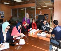 قافلة «100 مليون صحة» في مكتب أخبار اليوم بالإسكندرية