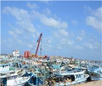 مدير ميناء البرلس ينفى توقف حركة الصيد