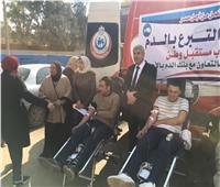 «مستقبل وطن» يشارك في حملات للتبرع بالدم ومعارض للسلع المخفضة بالمحافظات