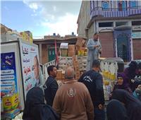 توزيع 5 آلاف بطانية على فقراء كفر الشيخ