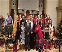 أعضاء اللوتس في بريطانيا يشاركون الكنيسة المصرية احتفالاتها بعيد الميلاد المجيد