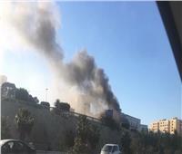 فيديو  اللقطات الأولى للهجوم الإرهابي على وزارة الخارجية الليبية