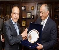 محافظ البنك المركزي يبحث مع نظيره الليبي سُبل دعم التعاون المشترك