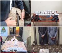 فيديو| الداخلية تضرب بؤر المخدرات بمحافظات مصر