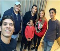 """هشام جمال يتعاقد مع الطفل الكفيف لإنتاج أغنية """"نفس الحروف"""""""