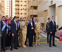 فيديو وصور| رسائل حاسمة من الرئيس السيسي خلال افتتاح «بشاير الخير 2»