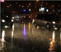 أمطار غزيرة على عدد من المحافظات وانقطاع الكهرباء