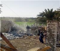 شاهد  الضربات الأمنية للمعتدين على أراضي الدولة بـ5 محافظات