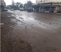 آثار الأمطار الغزيرة تتسبب في احتجاز مرضى داخل مستشفى قطور