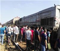 معاناة ركاب قطار «القناطر الخيرية»