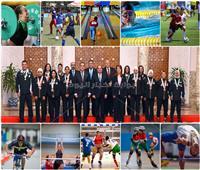 حصاد 2018.. أبطال الأولمبياد الخاص الإقليمي سجل حافل من الإنجازات| صور