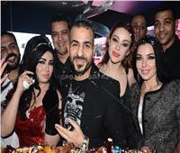 صور| الليثي وألاكوشنير وأوكسانا ومروة يحتفلون بعيد ميلاد جمال شوقي