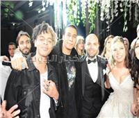 صور| أوكا وأورتيجا في زفاف «حسين وچالا»