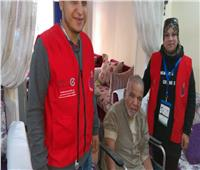 «100 مليون صحة» تفحص المواطنين بالمساجد والكنائس بالبحر الأحمر