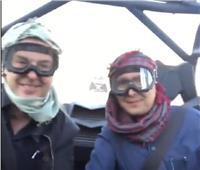 فيديو  «سفاري» راغب علامة ووليد توفيق في السعودية