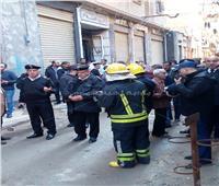 مصرع شخصين بينهما طفل إثر سقوط عقار بالإسكندرية