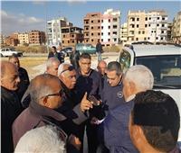 نائب وزير الإسكان يتفقد المشروعات التى يجرى تنفيذها بمدينة القاهرة الجديدة