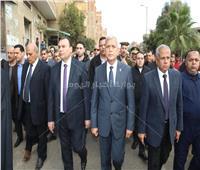 محافظ المنوفية ومدير الأمن يتقدمان جنازة اللواء عصام الخولي بمركز الشهداء