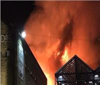 أكثر من 100 رجل إطفاء يكافحون حريقا في جنوب لندن