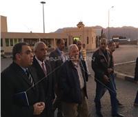 رئيس موانئ البحر الأحمر يشدد على توفير الخدمات أثناء تفقده ميناء نويبع البحري