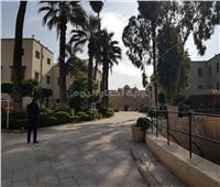 مصطفى وزيري يتفقد مجمع الأديان قبل الاحتفال بعيد الميلاد المجيد