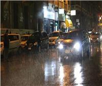 سقوط أمطار غزيرة على القاهرة والجيزة