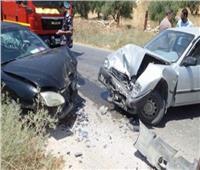 فيديو| الشربيني: حادث تصادم بالقوس الغربي في طريق الواحات بدون مصابين
