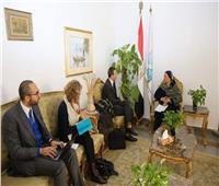 وزيرة البيئة تلتقى المدير الإقليمي لوكالة التنمية الفرنسية