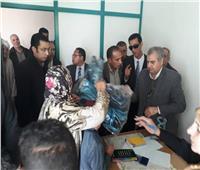 توزيع 3500 بطانية على الأسر محدودة الدخل بالبحيرة