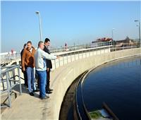 محافظ القليوبية يوجه بسرعة الانتهاء من محطة معالجة الصرف الصحي بالقناطر