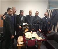 ضبط كمية كبيرة من مخدر «الفودو» في مطار القاهرة الدولي