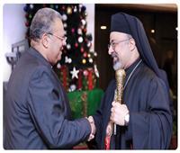 رئيس الإنجيلية يستقبل بطريرك الكاثوليك للتهنئة بعيد الميلاد