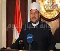 وزير الأوقاف يؤدي خطبة الجمعة في مسجد الحسين