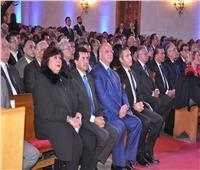 وزير الرياضة يشارك في احتفال الكنيسة الإنجيلية بعيد الميلاد