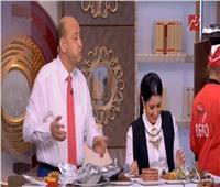 شاهد| سخرية عمرو أديب من الاهلي .. وآيتن عامر ترد بقوة
