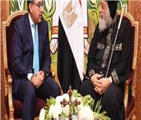 «رئيس الوزراء» يهنئ «البابا تواضروس الثاني» بعيد الميلاد المجيد