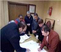 مدير المجمع الطبى بطنطا يبحث تطوير المستشفيات النموذجية
