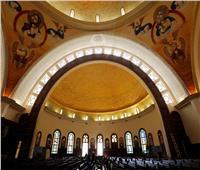 صور  قبل ساعات من افتتاحها.. كاتدرائية العاصمة الإدارية تستعد لقداس عيد الميلاد