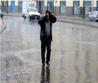أمطار غزيرة وانخفاض شديد في درجات الحرارة على مدن كفر الشيخ