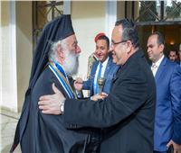 محافظ الإسكندرية يشارك في احتفالات «عيد الغطاس»