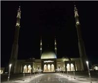 فيديو| رفع أول أذان لصلاة العشاء من مسجد الفتاح العليم بالعاصمة الجديدة