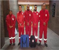 شباب الهلال الأحمر يشاركون في تأمين الكنائس بالمنوفية