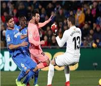شاهد  برشلونة يبتعد بصدارة الليجا بفوز صعب على خيتافي