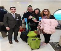 صور| مصر للطيران تحتفل مع عملائها بعيد الميلاد