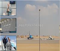 صور| وضع اللمسات الأخيرة لـ«مطار سفنكس» بقلب العاصمة.. وبدء التشغيل 25 يناير