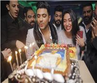 صور| يونس يحتفل بعيد ميلاده بحضور زيزي عادل ويحيى مرسي