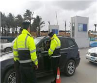 فيديو  طوارئ في غرف عمليات المرور تحسبًا لسقوط أمطار على الطرق السريعة